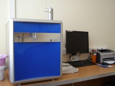 Анализатор общего органического углерода и азота vario TOC cube (Германия)